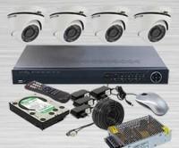 Paket CCTV HD / AHD, INFINITY 4 Kamera HD 2 MP, Lengkap