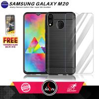 Aladoy Case Samsung Galaxy M20 Premium Softcase Carbon ultra slim