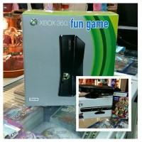 XBOX SLIM 250GB SUDAH RGH TERBARU PAKET KINECT SENSOR &STIK XBOX KABEL