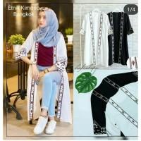 Baju Murah Etnik Kimono Fashion Wanita Pakaian Wanita