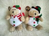 Starbucks Bearista Snowman & Snowgirl Christmas (2010)