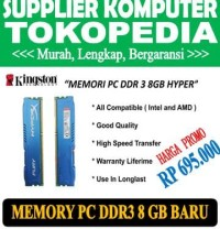 Best Brand Memory Pc Ddr3 8Gb Kingstone Hyper / Ram Komputer Ddr3 8 Gb