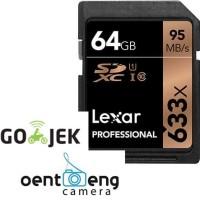 new memory lexar sdxc 64gb 128gb 633x 95mb/s