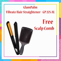 GlamPalm Vibrate Hair Straightener - GP 225 AL