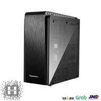 Casing PC CPU SEGOTEP T3 Desktop Tower - AluminumPanel / TemperedGlass