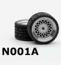 Ban Karet Rubber Tyre Premium Custom Diecast Scale 1:64 Type N001