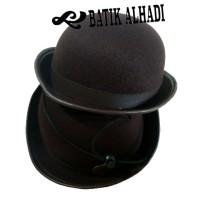Topi Boni Pramuka, Topi Sekolah. Batik Alhadi