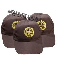 Topi Pramuka, Topi Sekolah. Batik Alhadi