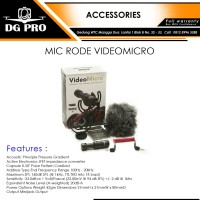 MIC RODE VIDEOMICRO - RODE VIDEO MICRO - MICROPHONE