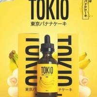 Tokio Tokyo Banana 3MG 6MG Liquid Vape Pisang Cake LQ455