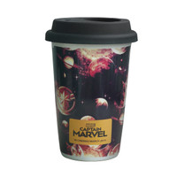 [Tokopedia | Captain Marvel] Tumbler Silicon Captain Marvel - Design 1