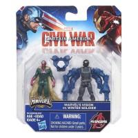 Captain America Civil War Winter Soldier vs Marvel Vision