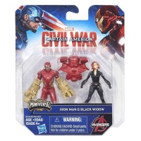 Marvel Captain America Civil War Iron Man and Black Widow