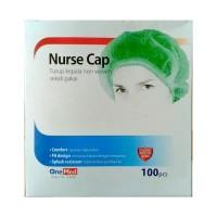NURSE CAP ONEMED (PCS) / HAIR NET / BOUFFANT / PENUTUP RAMBUT KEPALA