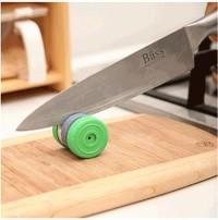265 - Asahan Pengasah Pisau Knife Model Bulat Roda Mini Praktis g