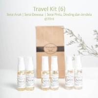 Serai Maharati Travel Kit isi 6 Minyak Serai Lemongras Oil
