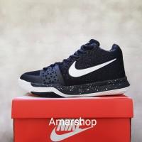 Sepatu Basket Nike Kyrie 3 Black White Murah