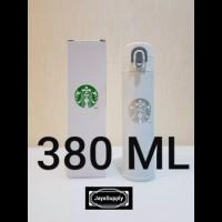 Botol Minum Termos Tumbler Kancing STARBUCKS Air Panas Original - ABU