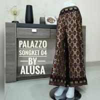TERLARIS!! Celana Kulot Bali Motif Songket