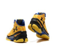 Under Armour Stephen Curry 2 Giraffe Yellow Blue Black Sepat B12ba401