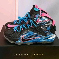 Nike Lebron 12 Chromosomes B12ba1875