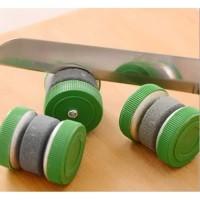 Pengasah Pisau Model Roda Putar / Batu Pengasah / Asahan Dapur