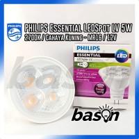 Philips Essential LED 5.5-50W 2700K MR16 24D 12V | HALOGEN LED