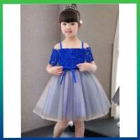 baju pesta anak perempuan 2-4thn -dress sabrina ultah gaun murah birel
