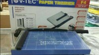 Pemotong Kertas Manual F4 Best Deals