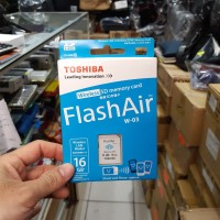 MEMORY SDHC TOSHIBA FLASH AIR WIRELESS 16GB W03