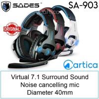 Headset Gaming Sades SA-903