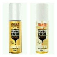 Original Source Manggo / Coconut & Shea Butter Body Oil 125 mL Bottle