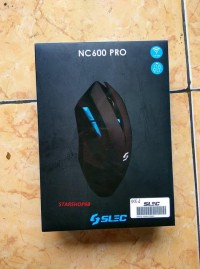 Baru Mouse Wireless Gaming Nc-600 Black Edition