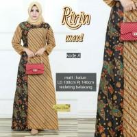 ririn maxi - gamis batik murah - baju muslim murah