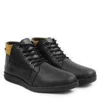 Sepatu Boots Desain Kickers Hitam Arc212