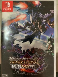 Kaset Game Ori Nintendo Switch Monster Hunter Generations Ultimate
