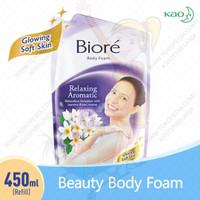 BIORE Body Foam Relaxing Aromatic Ungu 450ml Sabun Mandi Cair Refil