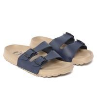 Sendal Casual Pria / Sandal New Era Madrid Essential in Navy Blue