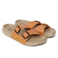 Sendal Casual Pria / Sandal New Era Madrid Essential in Navel Orange