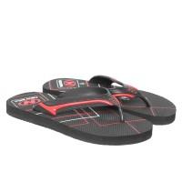 Sendal Jepit / Sandal Jepit Pria NEW ERA HRV Hitam Merah Size 41 42