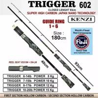 joran pancing kenzi trigger 602/1,8M