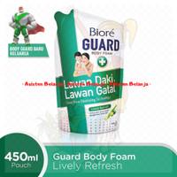 BIORE Guard Body Foam 450 ml Lively Refresh Sabun Mandi Cair Refil