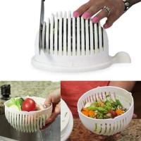 Salad Cutter Bowl Mangkuk Alat Pemotong Salad Buah dan Sayur