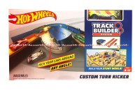 Hotwheels Track Builder Custom turn Kicker Mainan Hotwel Hot Wheels