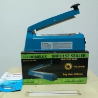 Impulse Sealer , Alat Press Plastik Homelux 20 cm
