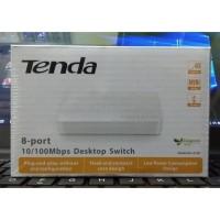 TENDA S108 8-Port Ethernet Switch, Switch Hub 8 Ports Switch Internet