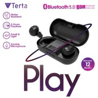 Terta Play Wireless Headset Bluetooth 5.0 - Stereo HD Sound Quality
