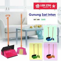 Lion Star sapu + pengki dust pan vivian a 130 set - Khusus Surabaya