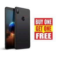 BUY 1 GET 1 FREE Case Babyskin Soft Black Matte Samsung Galaxy A6S
