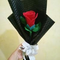 Buket bunga wisuda murah / buket bunga / kado ultah / kado anniversary